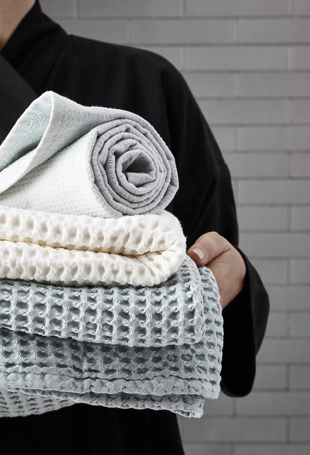 Waffle textiles - The Organic Company